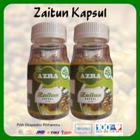 2 Botol Azra Zaitun Kapsul Isi 100 Kapsul 100% Original