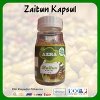 1 Botol Azra Zaitun Kapsul Isi 100 Kapsul 100% Original