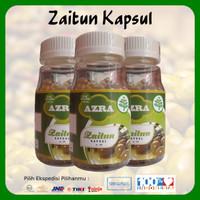 3 Botol Azra Zaitun Kapsul Isi 100 Kapsul 100% Original