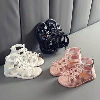 sandal sepatu gladiator anak perempuan remaja import ready stock murah