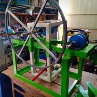 Mesin Roll Bending Pipa Besi - Pipa Hollow - Alat Roll Plat Besi 3 T