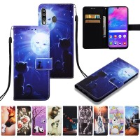 For Samsung Galaxy A50 Leather Case For Samsung A505 Flip Cover Wallet
