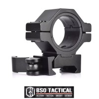 Mounting Tactical Scope Flashlight Mount 25mm 30mm QD Metal 20mm Rail