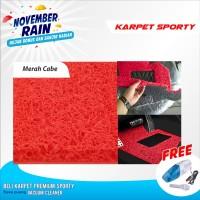 Karpet Mobil Dasar Mobil Cover Super 3 Baris Full set Avanza Xenia