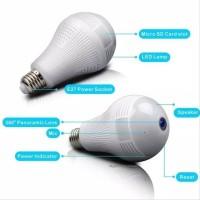 Wifi Camera Panorama 360 Wireless 1.3mp Smart Led Bulb