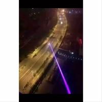 GrosiR MuraH Blue Purple Laser Pointer 405MN 5MW 8000M Laser Warn
