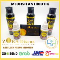 Reseller Resmi Obat Ikan MEDFISH Antibiotik Antibiotic Ikan Per Botol