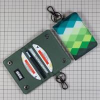 Dompet STNK Motor Mobil Kartu SIM eToll / Gantungan Kunci / Kain DS38