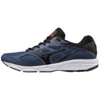 Sepatu Lari Original Mizuno Spark 4 Estate Blue Black Tomato 137118673