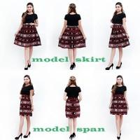 Batik Wanita -Rok Batik Tenun Print