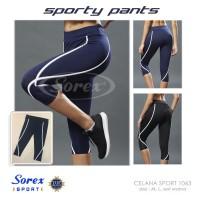 Pakaian Olahraga Wanita Celana Legging Aerobic Senam Yoga Sorex 1063