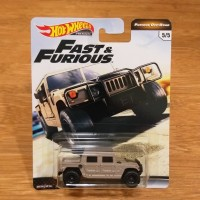 Diecast Hot Wheels Premium Fast and & Furious Off Road Hummer H1 Ori