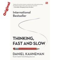 Buku Thinking, Fast and Slow   Daniel Kahneman (Pengembangan Diri)