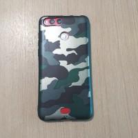 Case Advan i5C Lite Advan i5C Duo Motif Army Case Hijau Kompatibel