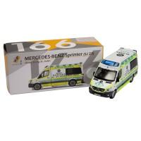 Tiny Diecast 166 Mercedes-Benz Sprinter Ambulance St.John Hongkong