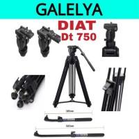 DIAT DT750 - TRIPOD PROFESIONAL VIDEO DIAT DT750