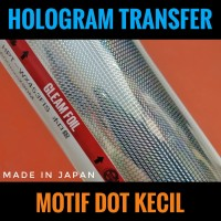 Hot Stamping Foil Motif Dot Hologram Transfer Metal Jig Lure