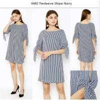 HMD Tie Sleeve Stripe Navy