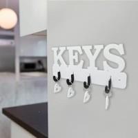 Rak Gantungan Kunci Set Sama Gantungan Motif Keys Z796