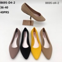 Sepatu Jelly flat Shoes Balance B695-D4-2 wanita