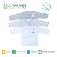 PROMO 1 Set Baju Tgn Panjang bis Abu 3pcs size L / baby FLUFFY / SNI