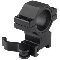Mounting 25.4mm/30mm KC05 Ring Weaver Base Black