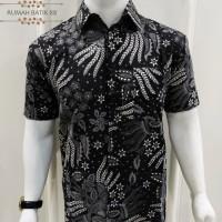 Kemeja Batik Pria Lengan Pendek Murah Baju Batik Cowok Alur
