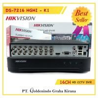 DVR HIKVISION DS-7216HGHI-K1 ORIGINAL 16 CHANNEL / TURBO HD 16CH