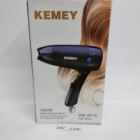 Hair dryer model lipat kemei travel KM 8215