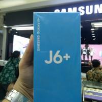SAMSUNG GALAXY J6 PLUS RAM 3/32GB GARANSI RESMI SEIN - Hitam