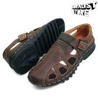 Sepatu Sandal Pria Kulit Asli Like Moralist Gentelmen MH305