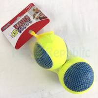 Mainan Anjing KONG AUT1 Ultra Squeak Air Ball Large 2pcs