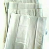 sampul buku plastik mika tebal ( kwarto) 20 pcs