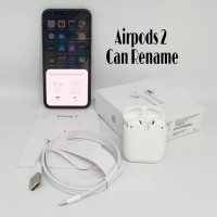 Headset Bluetooth Airpods 2 With Charging Case Apple OEM Clone 1 : 1