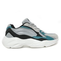 Phoenix Brandon Sepatu Sneakers Pria - Grey - 41