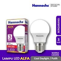 Hannochs - Lampu LED Alfa - 3 watt - cahaya Putih