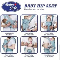 Baby safe BC06B Hip seat carrieer New born
