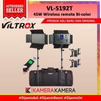 Lampu studio LED 2x SET Viltrox VL-S192T 45W Wireless remote Bi-color