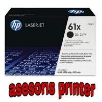 TONER PRINTER HP LASERJET 61X (C8061X) BLACK ORIGINAL