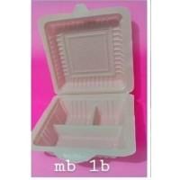 Box Mika Kotak Bekal Plastik Tempat Makan Nasi/Lauk MB 1B