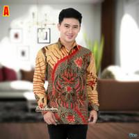 Jual Kemeja Batik Pria Lengan Panjang Terbaru Termurah EXCLUSIVE