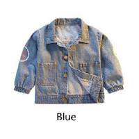 PO SMILEY DENIM JACKET (1-4Y) / Jaket Denim Anak / Baju Anak Laki-Laki
