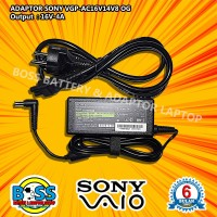 Adaptor Charger Original Laptop Sony Vaio 16V - 4A DC 6.5x4.4 Mm
