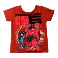 Kaos Anak Laki-Laki 4-5 tahun Kaos anak Termurah 02-220 Hero Kaos