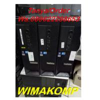PCSERVER SECOND UNBK LENOVO C20 Quad Xeon E5620 Ram 4gb Hdd 500 NVIDIA