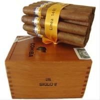 New Cohiba Siglo II Box-25 Cuban Cigar Cerutu - Bonus Cutte bgr22