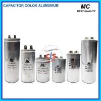Kapasitor (capacitor) Ac 60 Uf - Aluminium (spare 250 V