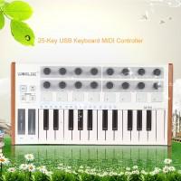 HOT Worlde Ultra-Portable Mini Professional 25-Key USB MIDI Drum Pad
