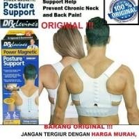 Dijual Posture Sport Power Magnetic Korset Penegak Punggung Murah