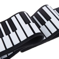 HOT USB 88 Keys MIDI Roll up Electronic Piano Keyboard Silicone Flex